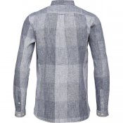 knowledge cotton apparel checked shirt