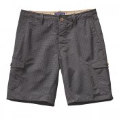 Patagonia - Wavefarer Cargo Shorts Grid Man Forge Grey M