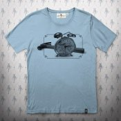 Dirty Velvet - Hammer Time T-shirt Steel Blue0