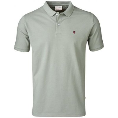 knowledge cotton apparel pique polo