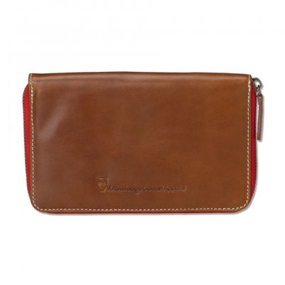 Knowledge Cotton Apparel zip wallet