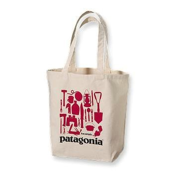 Patagonia - Canvas Bag Live Simply Camping0