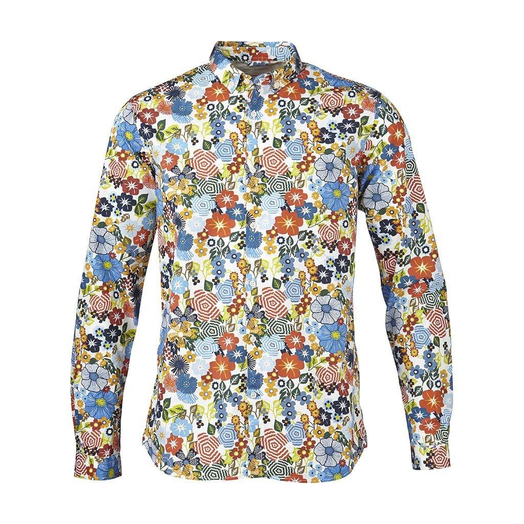 färgglada skjortor herr