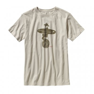 Patagonia unicycle T-shirt