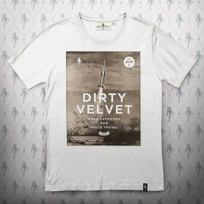 Dirty Velvet - NASA Approved T-shirt0