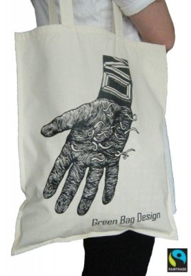 Green Bag Design - Thriller Tygpåse0