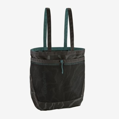 Patagonia - Planing Tote 32L Tiger Tracks Camo: Ink Black