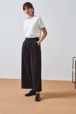 kowtow building block wide leg
